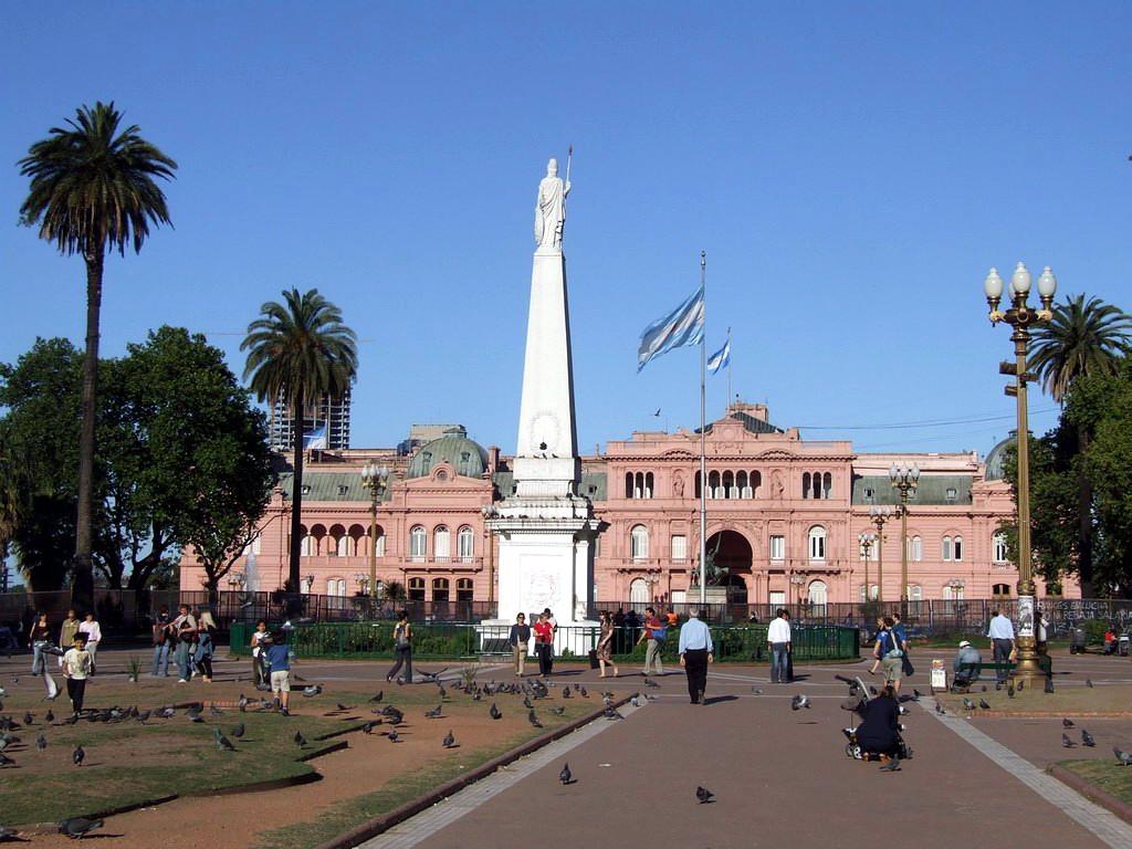 Casa rosada for Casa argentina
