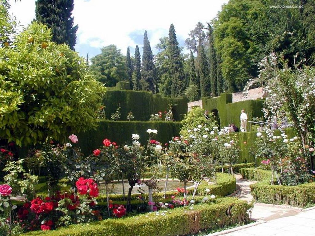 Jardines del generalife granada for Bazzel el jardin de los secretos