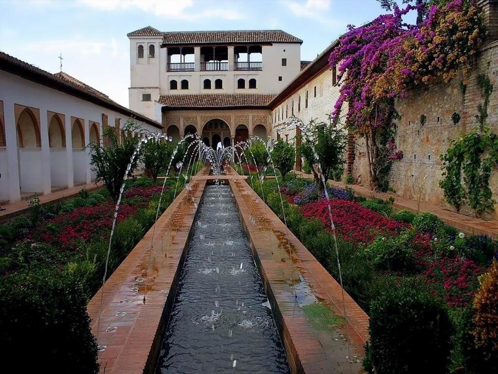 Jardines del Generalife. Granada