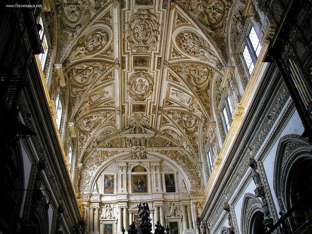 Interior de la catedral mezquita b veda del coro c rdoba for Interior mezquita de cordoba