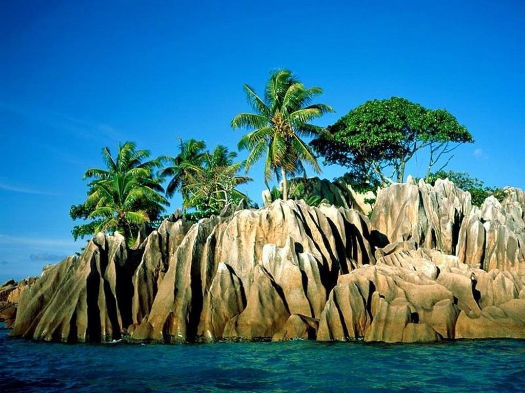 Resultado de imagen de paisaje de las islas seychelles