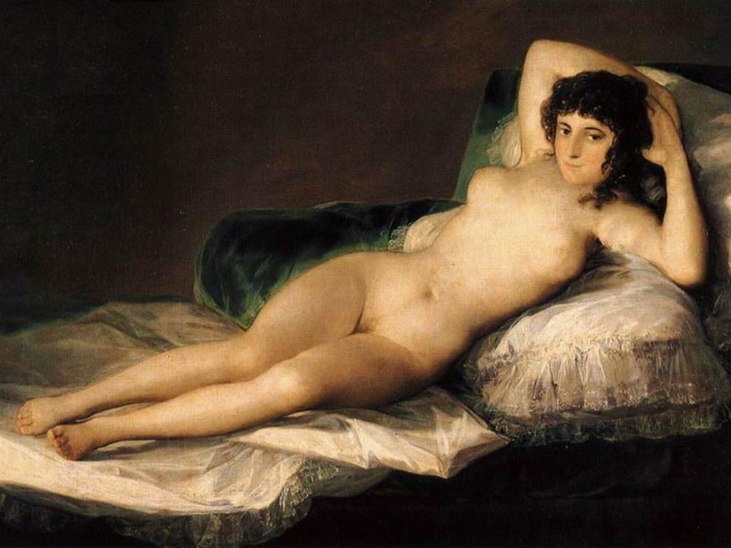 La Maja Desnuda Goya